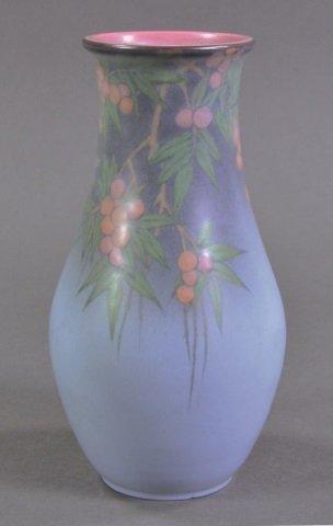 Lenore Asbury Rookwood Vellum Vase