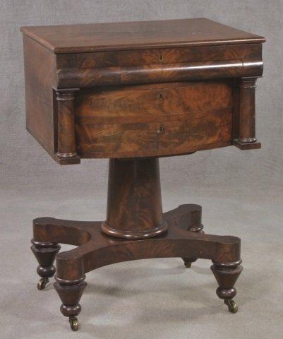 Mahogany Classical Style Writing Desk
