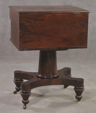 Mahogany Classical Style Writing Desk - 2