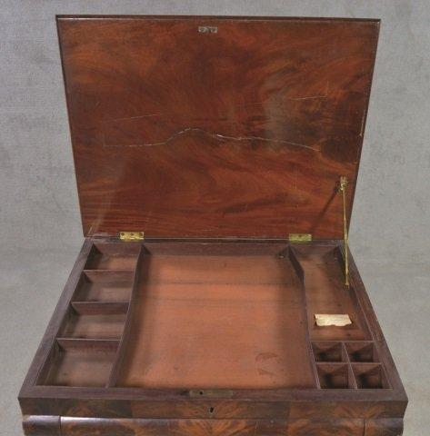 Mahogany Classical Style Writing Desk - 5