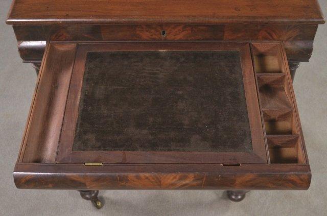 Mahogany Classical Style Writing Desk - 8