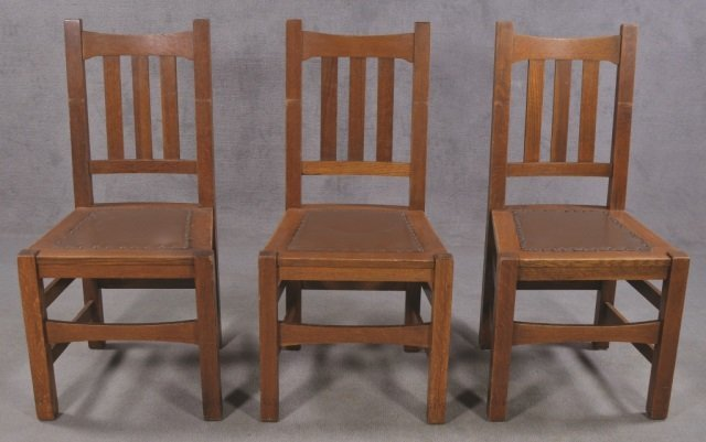 Set of Five Stickley Bros. Co. Chairs - 2