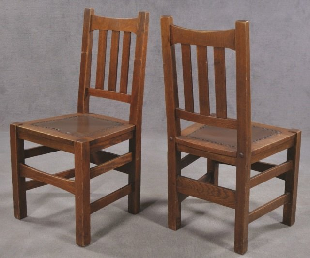 Set of Five Stickley Bros. Co. Chairs - 3