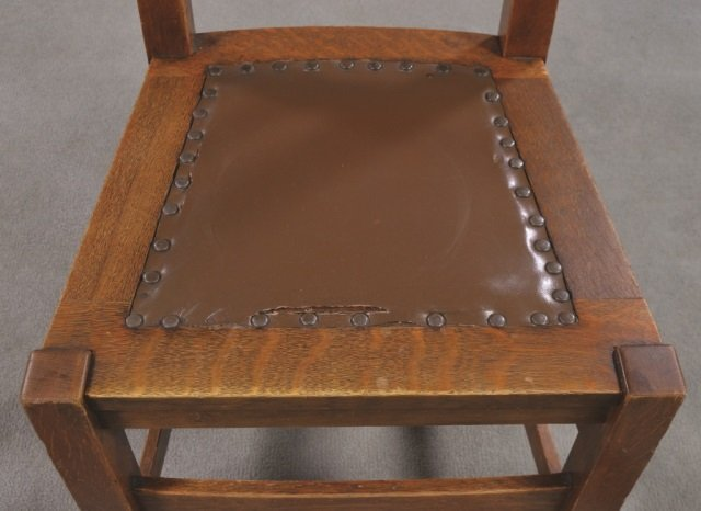 Set of Five Stickley Bros. Co. Chairs - 4