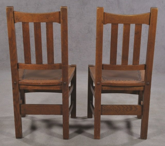 Set of Five Stickley Bros. Co. Chairs - 5