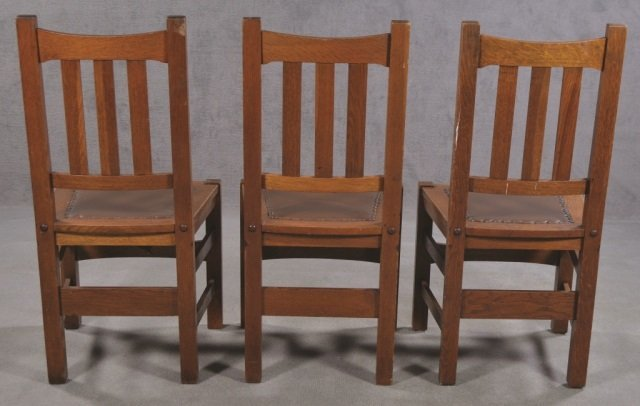 Set of Five Stickley Bros. Co. Chairs - 6