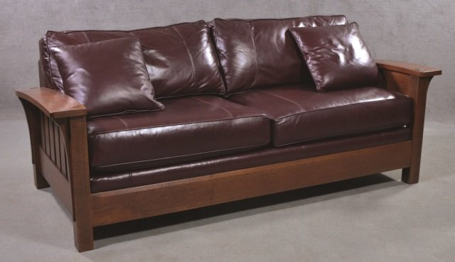Stickley Bow-Arm Sofa