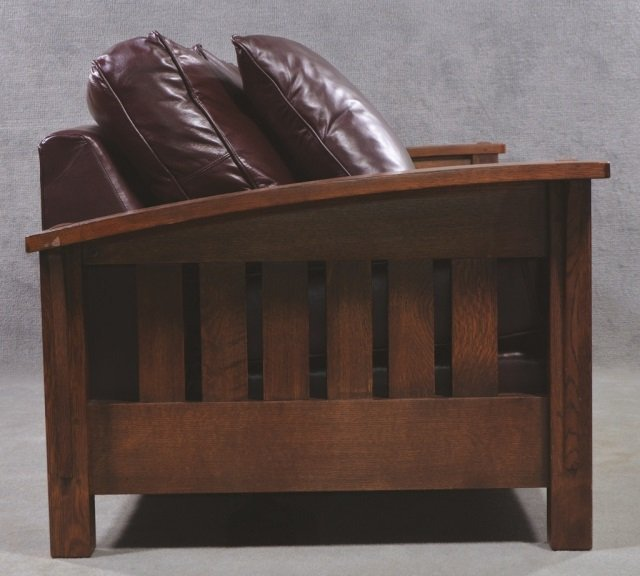 Stickley Bow-Arm Sofa - 2