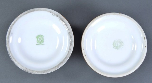 Three Lidded Porcelain Match Strikers - 3