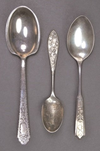 Group of Small Silver Spoons - 4