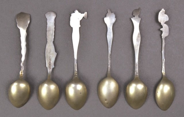 Group of Small Silver Spoons - 7