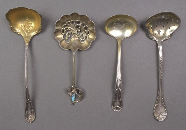 Group of Small Silver Spoons - 8