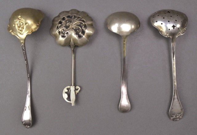 Group of Small Silver Spoons - 9