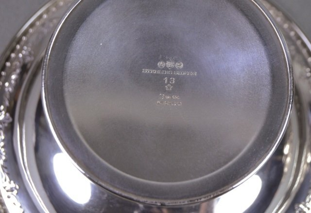 Three Sterling Bowls - 5