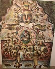 ALEJANDRO COLUNGA Mexican Fantasy Print