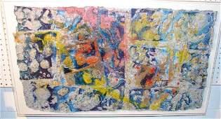 Sam Gilliam Cape 7 1980 Handmade Paper