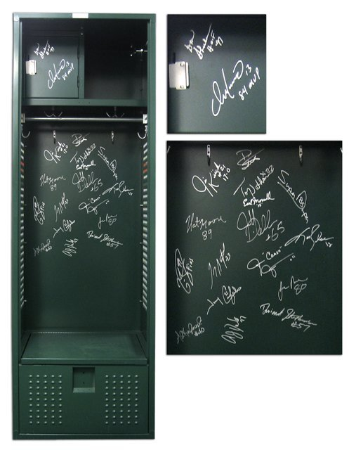 13: Authentic Orange Bowl Dolphins Autographed Locker