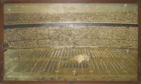 83: Authentic Orange Bowl Framed 1957 Mural