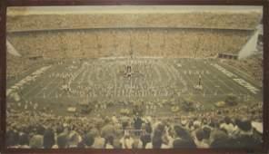 86: Authentic Orange Bowl Framed 1961 Mural