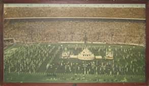 87: Authentic Orange Bowl Framed 1959 Mural