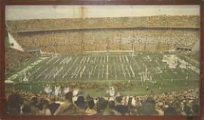 88: Authentic Orange Bowl Framed 1960 Mural
