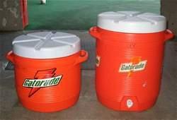 281: Authentic Orange Bowl Gatorade Coolers