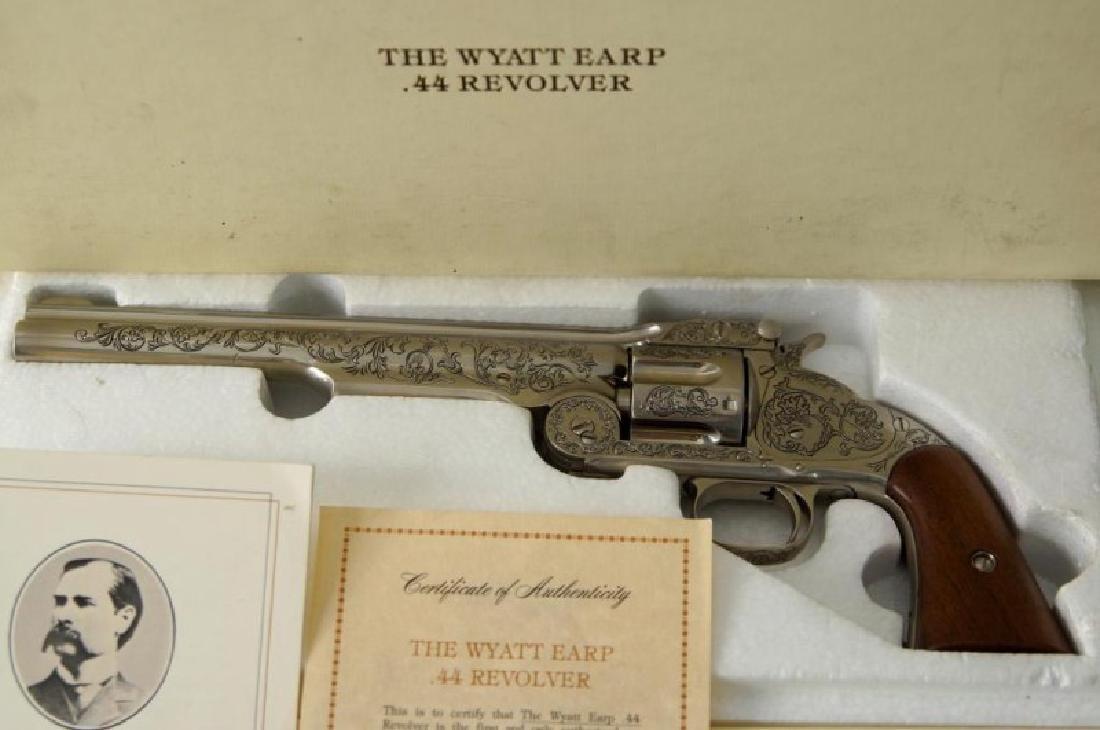 Wyatt Earp commem. 44 Schofield Franklin Mint - 2