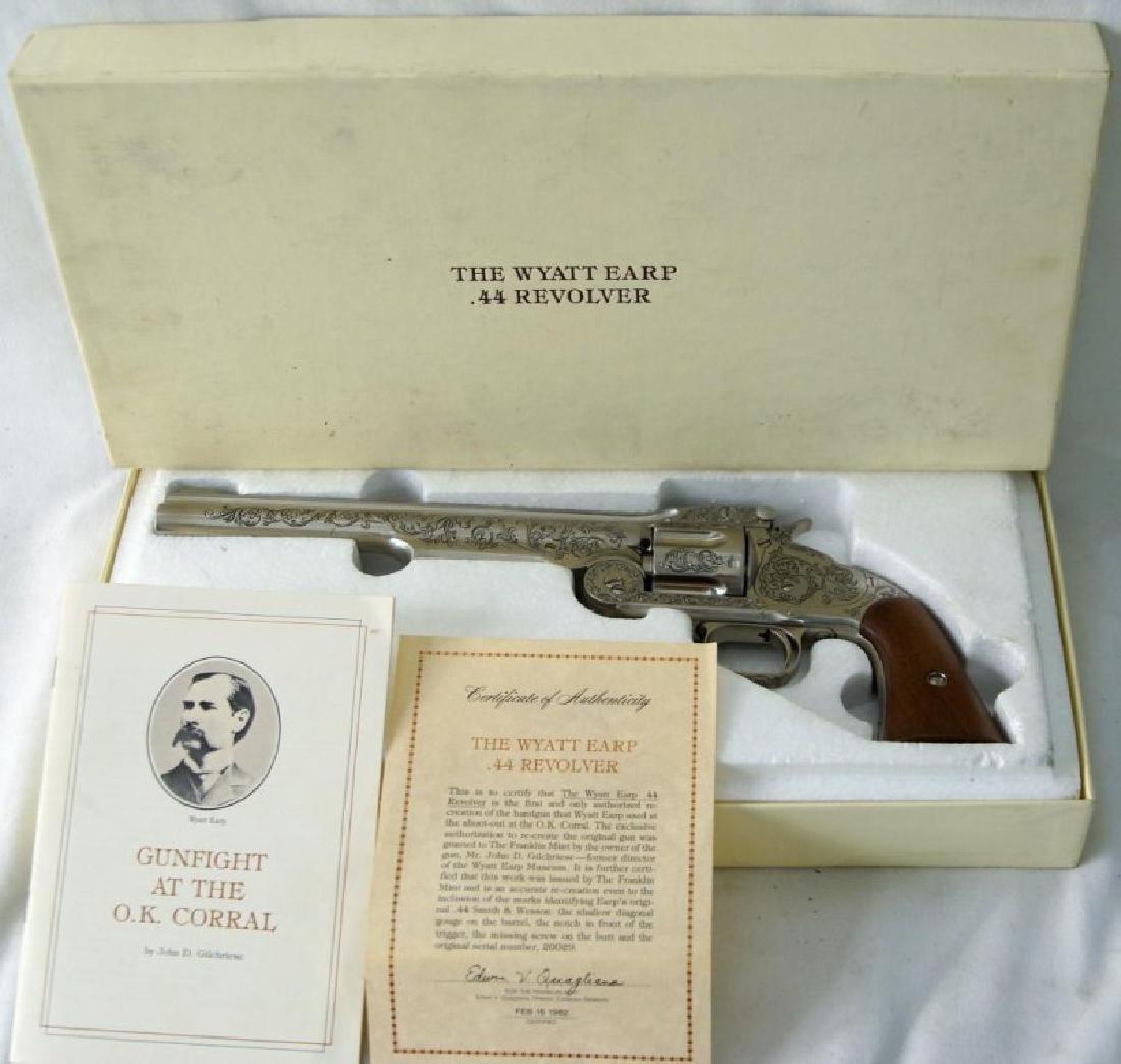 Wyatt Earp commem. 44 Schofield Franklin Mint - 3
