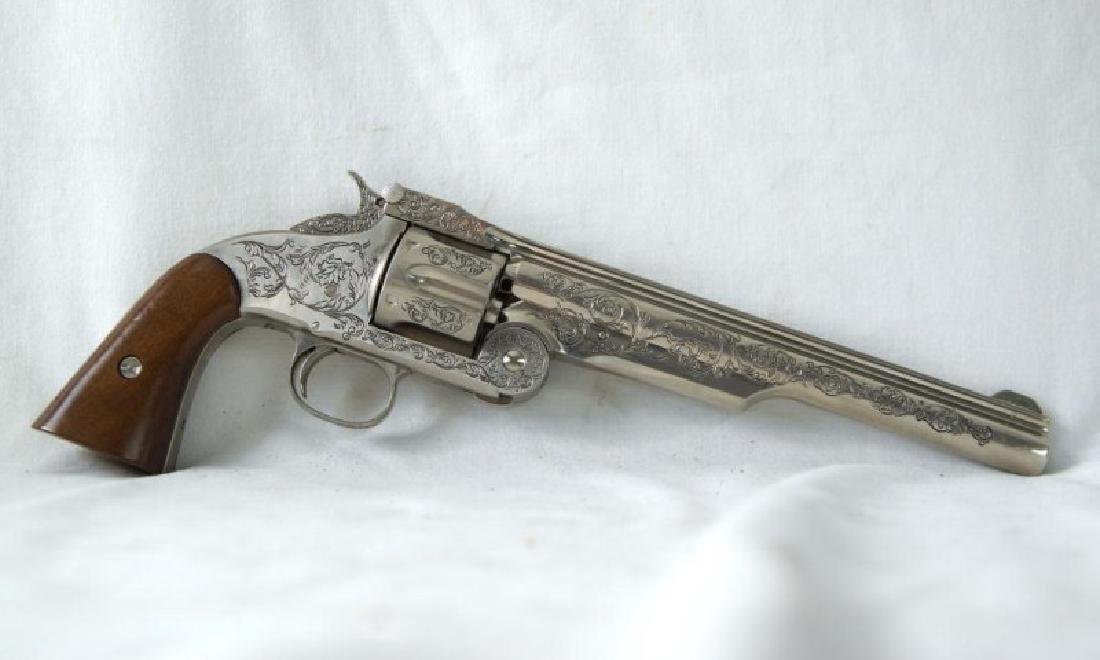 Wyatt Earp commem. 44 Schofield Franklin Mint - 6