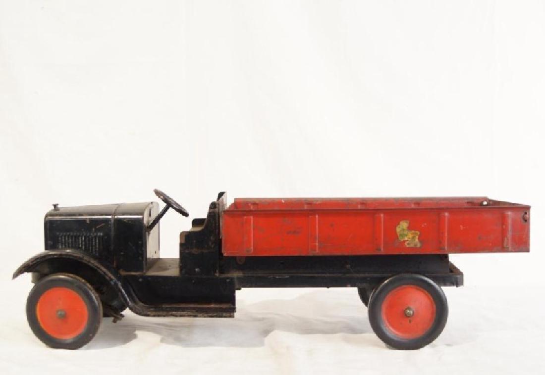 Antique Steel Toy Buddy L dump truck