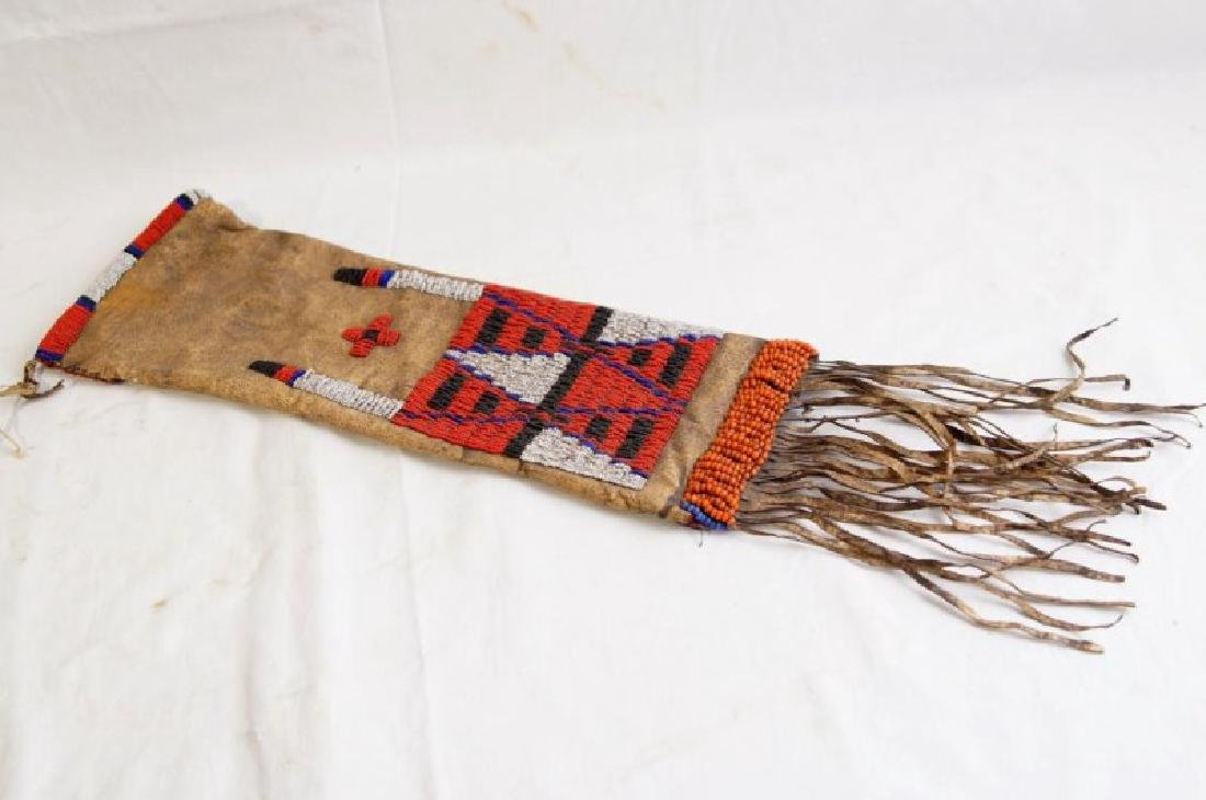 Plains Indian Beaded Pipe Bag - 2