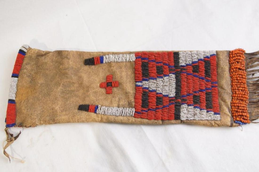 Plains Indian Beaded Pipe Bag - 3