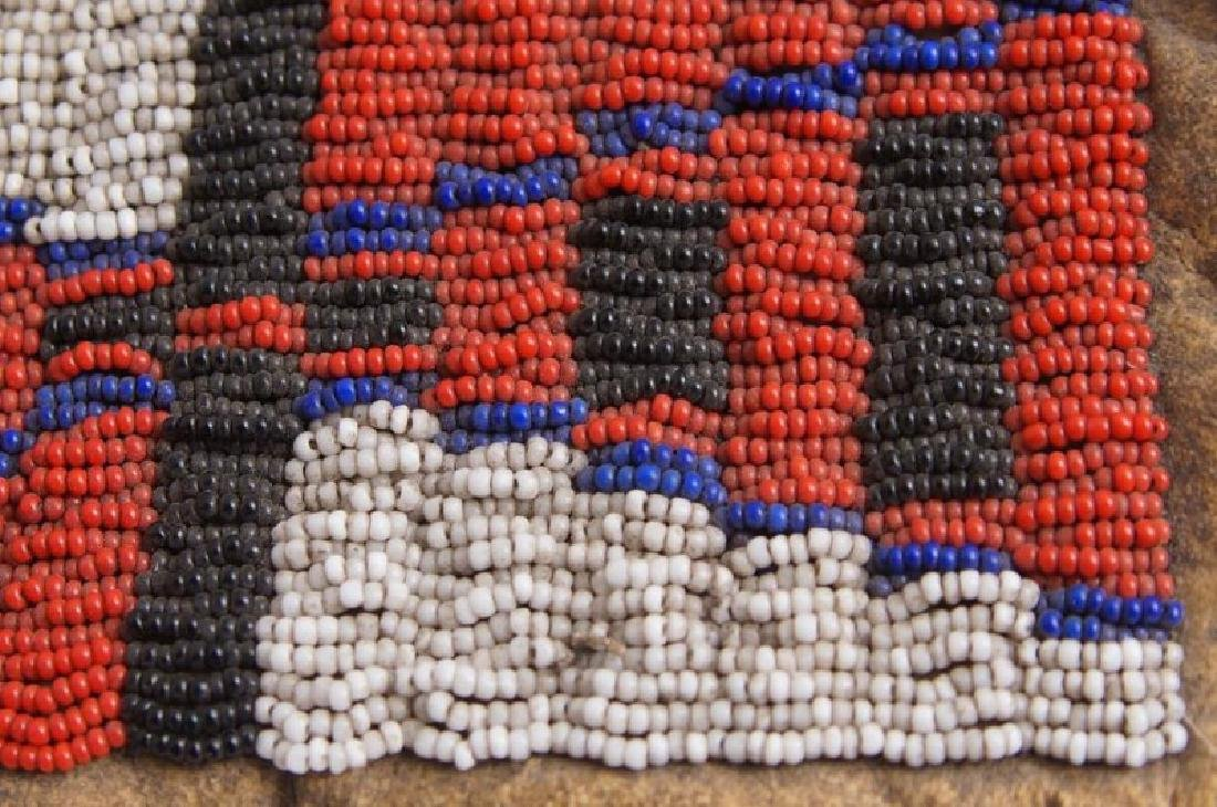 Plains Indian Beaded Pipe Bag - 6