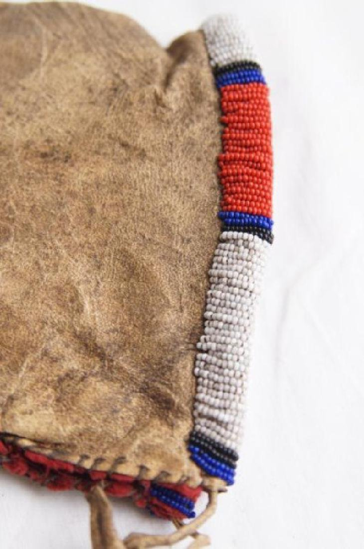 Plains Indian Beaded Pipe Bag - 9