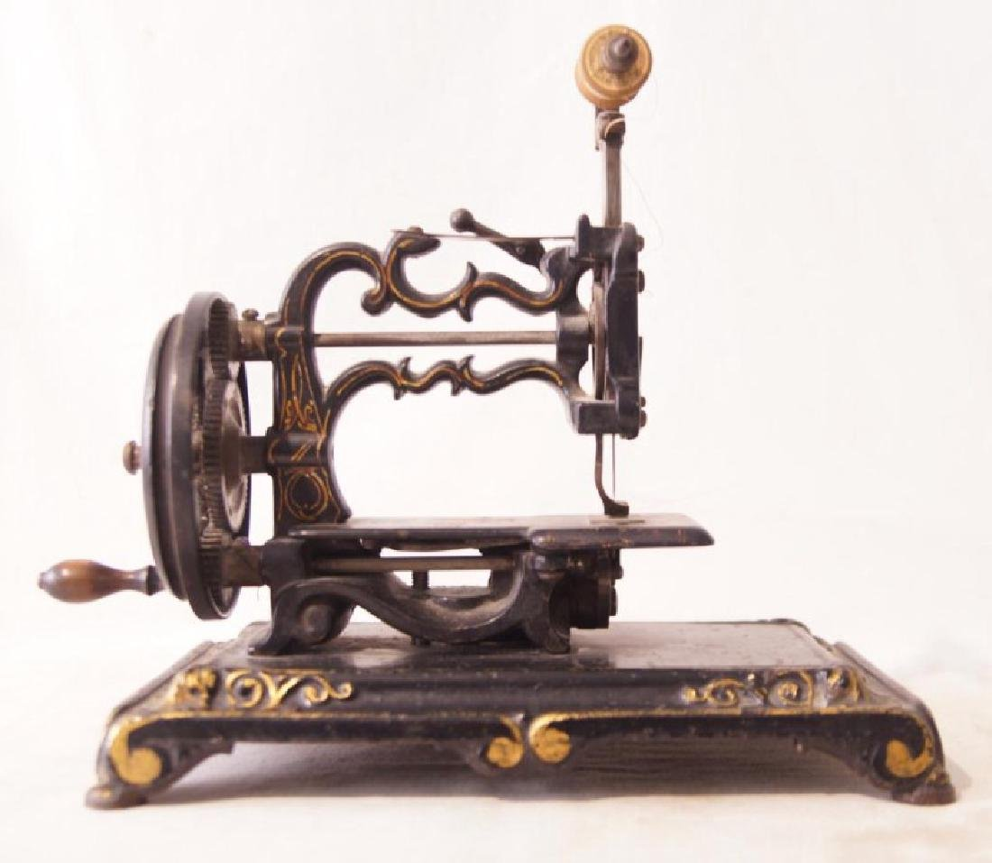 Victorian Cast Iron sewing machine