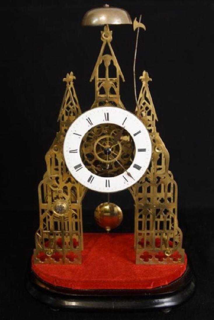 Antique Skeleton clock