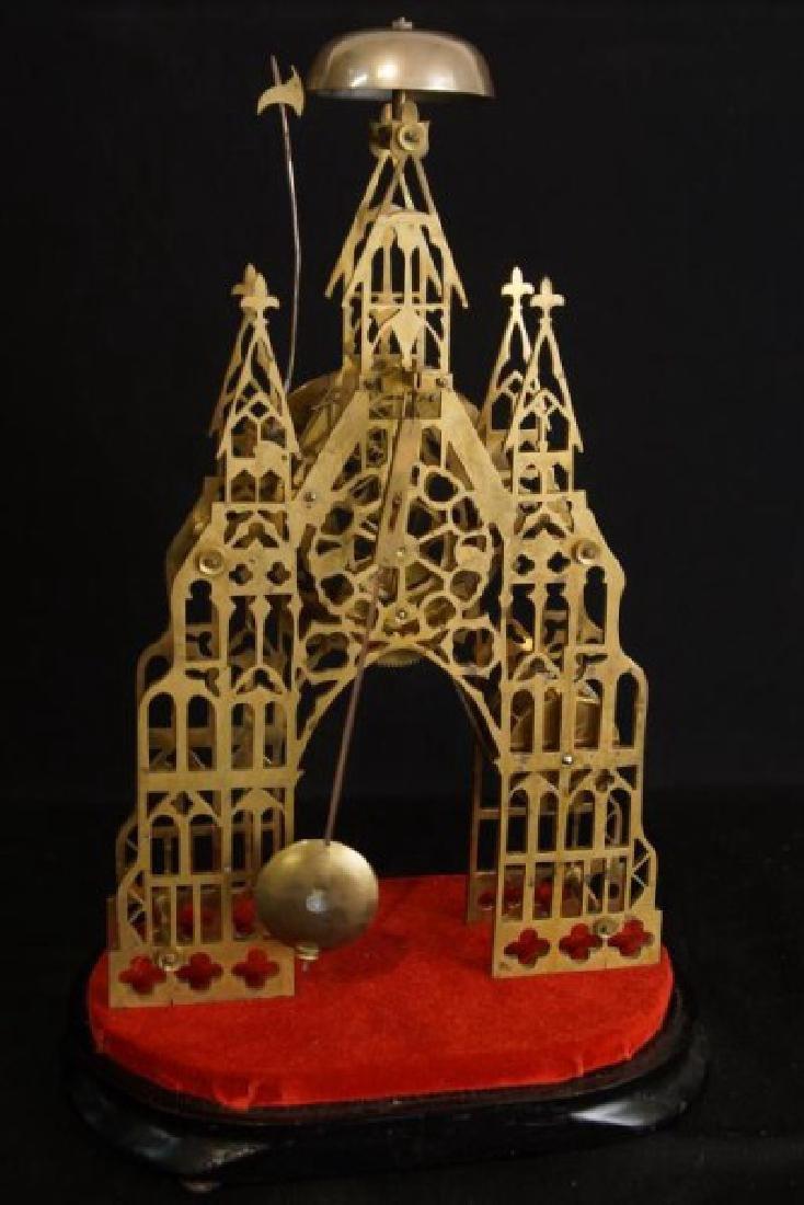 Antique Skeleton clock - 6