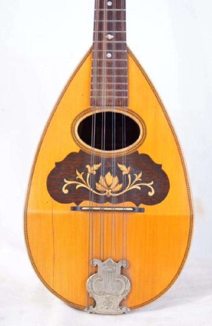 Vintage 8-String Mandolin - Bowl back