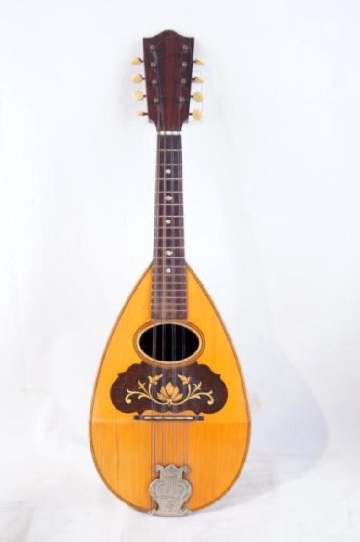 Vintage 8-String Mandolin - Bowl back - 2