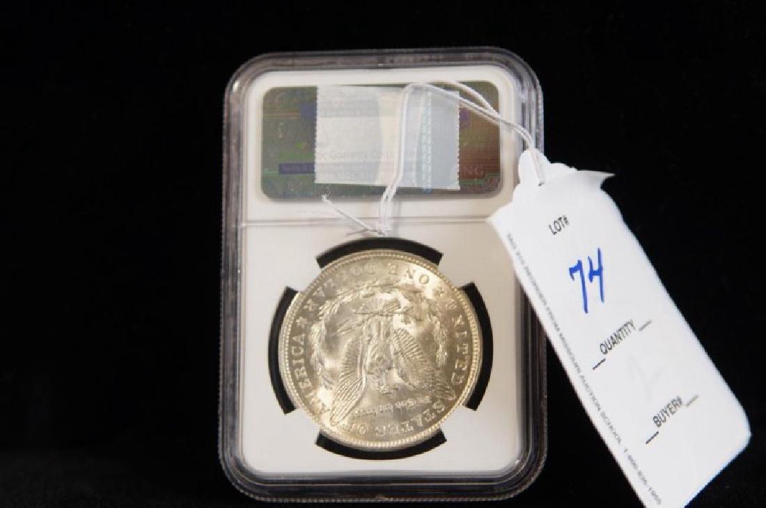 MORGAN SILVER DOLLAR 1921 MS 63 - 2