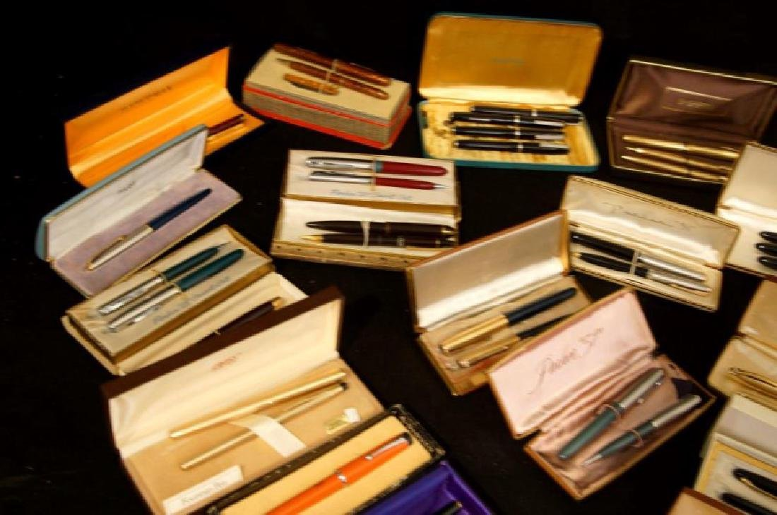 Collection of Vintage fountain pens, Parker, Sheaffer - 2