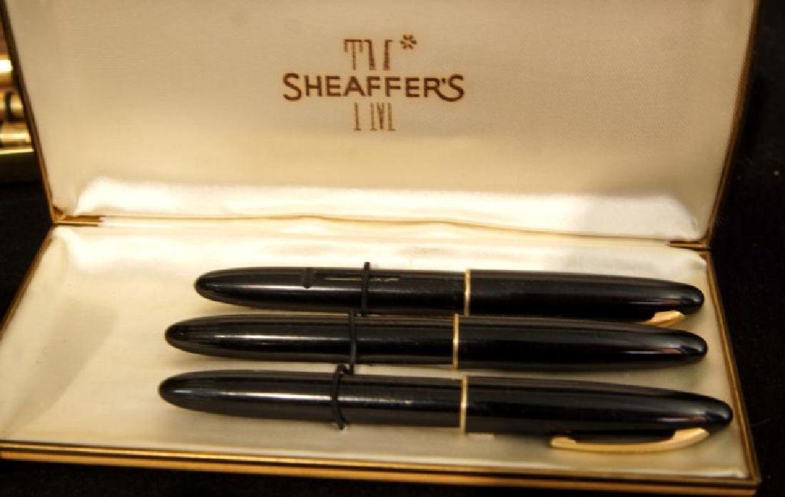 Collection of Vintage fountain pens, Parker, Sheaffer - 6