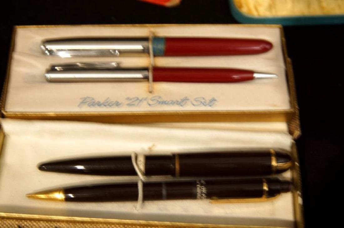 Collection of Vintage fountain pens, Parker, Sheaffer - 8