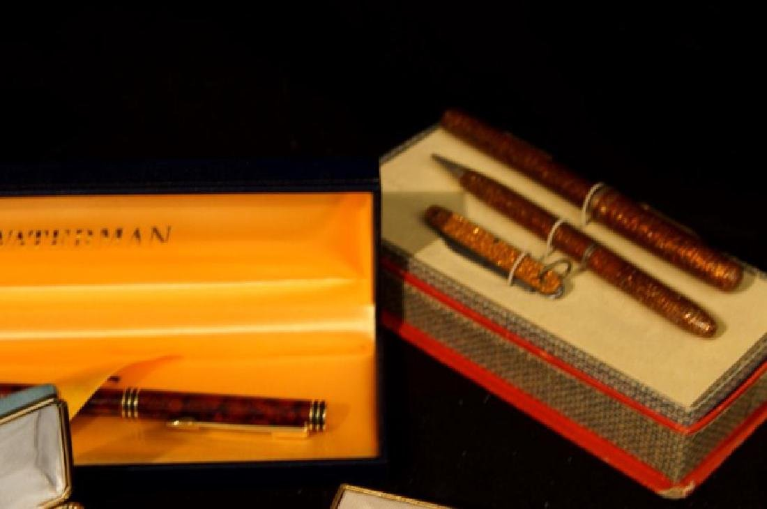 Collection of Vintage fountain pens, Parker, Sheaffer - 9