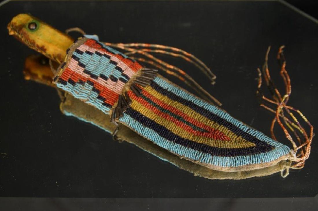 Native American Beaded knife sheath