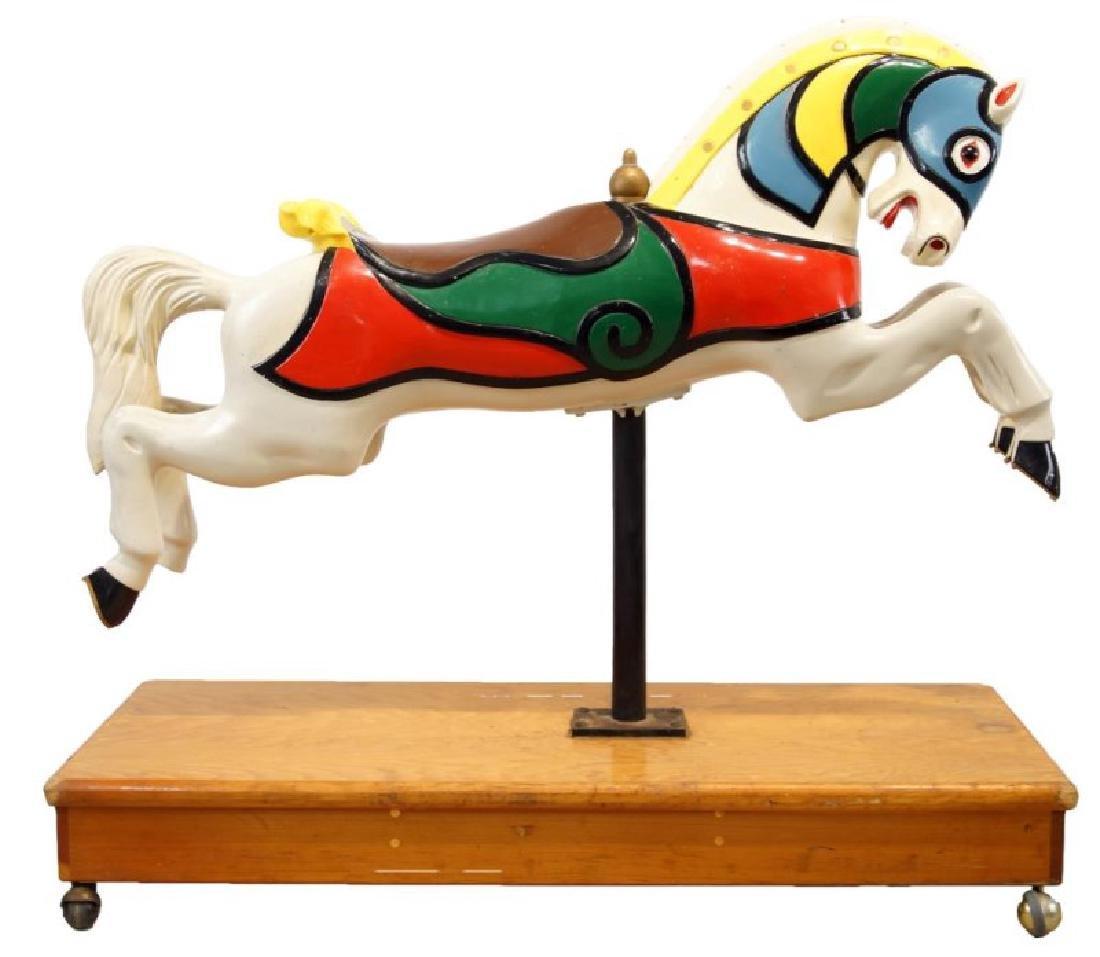 "CW Parker ""Trojan"" Jumper Carousel Horse"