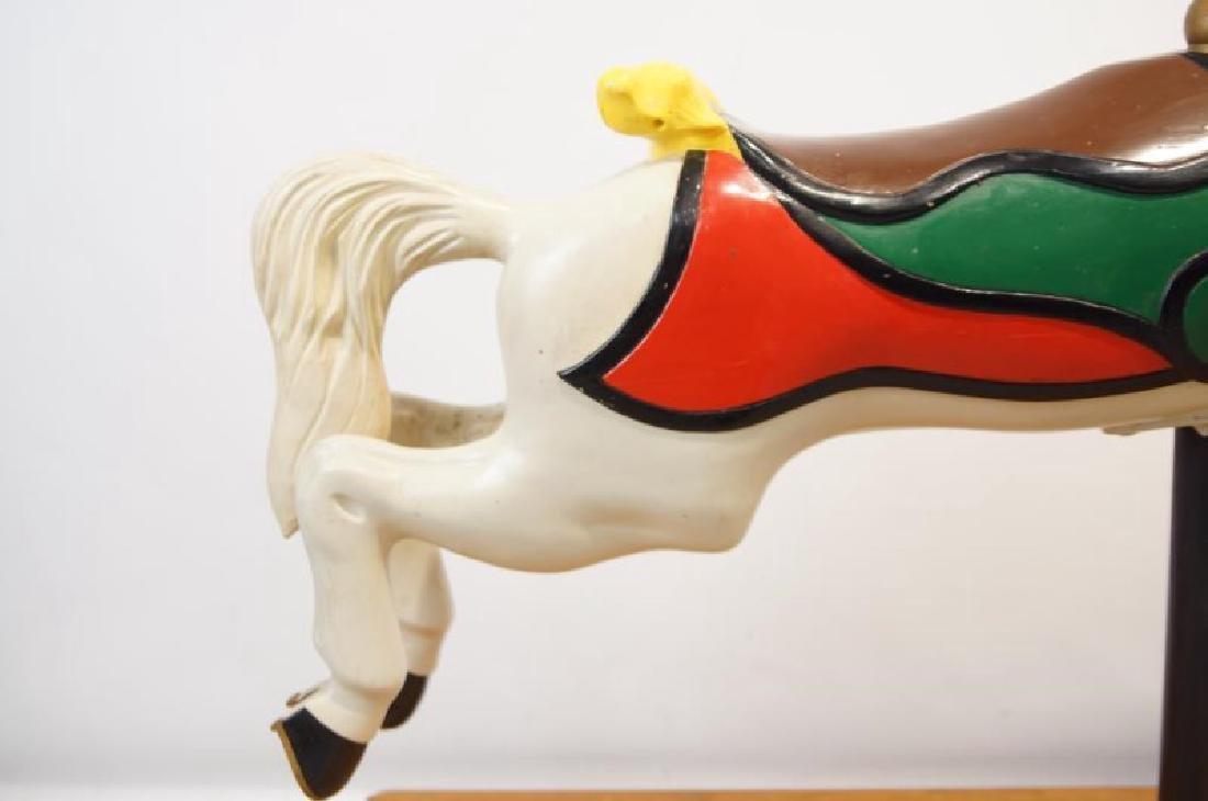 "CW Parker ""Trojan"" Jumper Carousel Horse - 4"