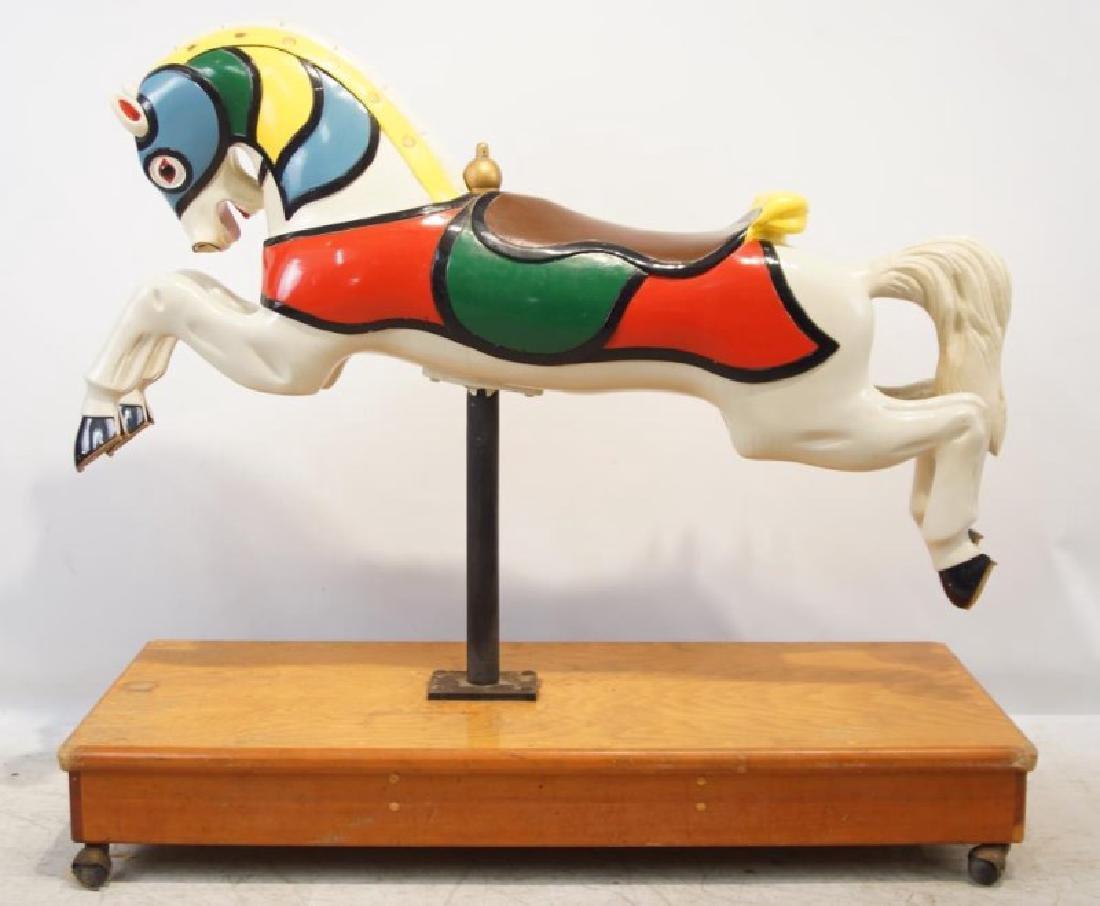 "CW Parker ""Trojan"" Jumper Carousel Horse - 6"