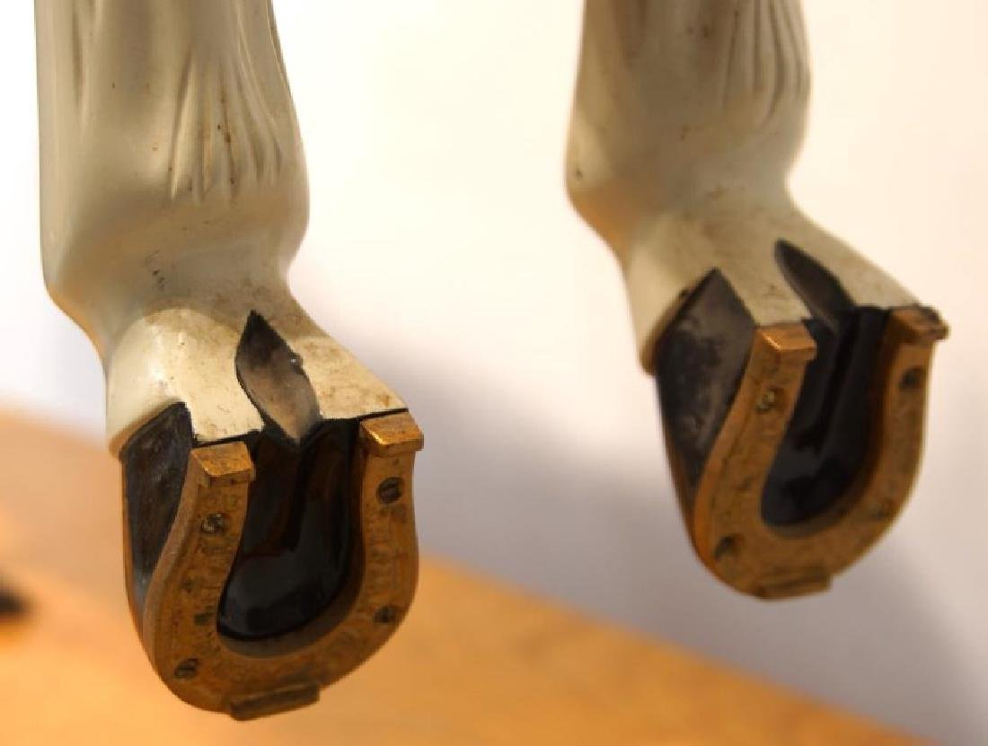 "CW Parker ""Trojan"" Jumper Carousel Horse - 7"