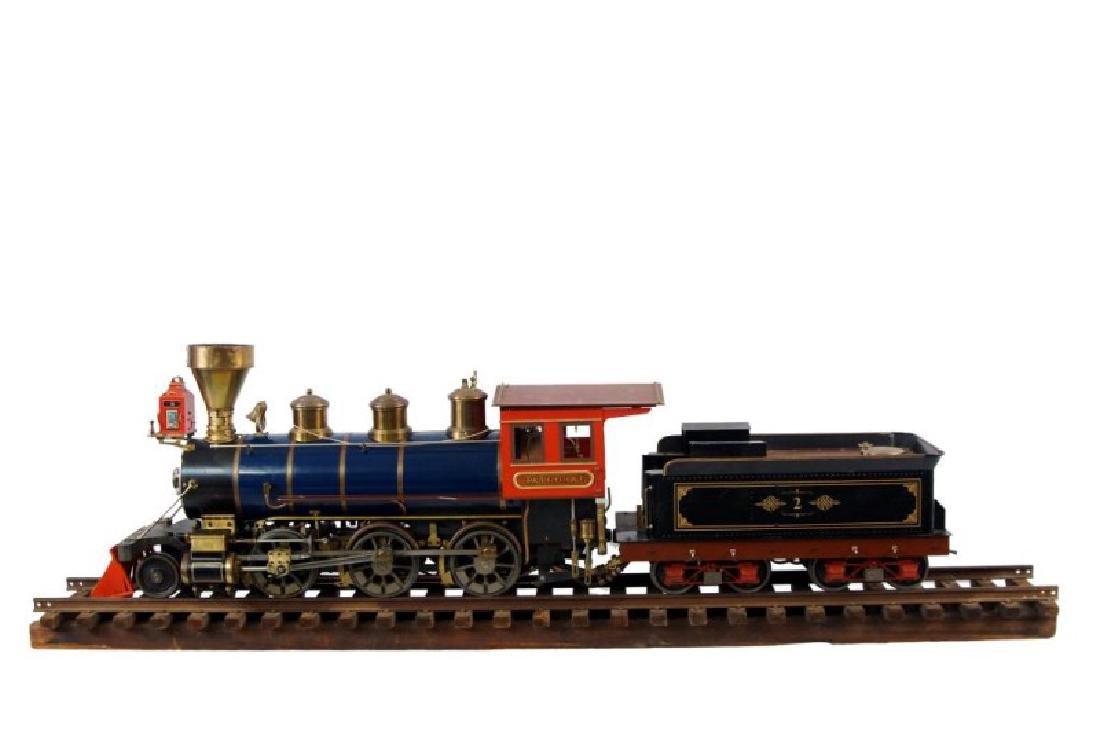 Live Steam OS 2-6-0 Porter locomotive